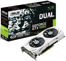 ASUS DUAL-GTX1060-6G Graphics Card